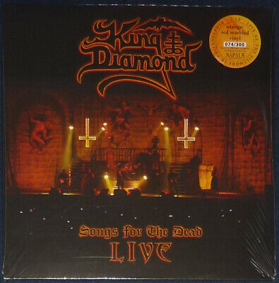 King Diamond - Songs For The Dead Live on Orange & Red Marbled vinyl.
