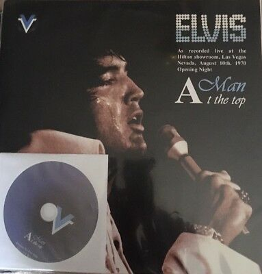 Elvis A Man At The Top 2 Lps Soundboard 1 Dvd 10/8/1970 O.n  N° /500 Sealed Rare