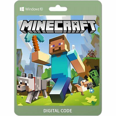Minecraft Windows 10 Edition - Code - Key - Region Free - Fast Delivery - PC