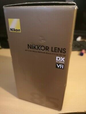 Nikon 85mm f3.5 G ED AF-S VR DX Micro Lens. Boxed, Used, VGC, free UK post.