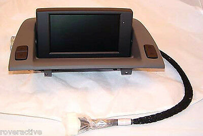 BMW OEM E85 E86 Z4 2003-2008 Navigation Monitor Central Information Display Grau