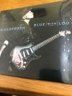 Nils Lofgren Blue With Lou Signed Cd