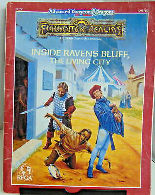 D&D FORGOTTEN REALMS City of the Spider Queen WotC RPG Paperback