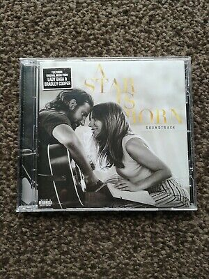 Lady Gaga A Star Is Born UK HMV Exclusive CD Album Fold Out Poster