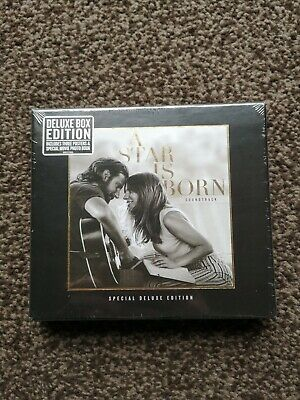 Lady Gaga A Star Is Born Soundtrack - Special Deluxe Edition CD Box
