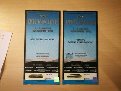 Rock am Ring 2019 -  Weekend Festival Ticket + General Camping & Parking Ticket