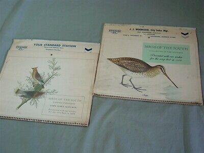 "PAIR of Vintage Standard Oil Company Wall Calendars 1969 ""DEMO"" & 1970"