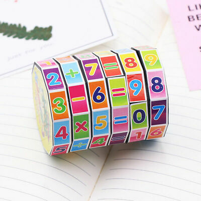 Magical Cube Kids Educational Arithmetic Developmental Baby Toys Family Game