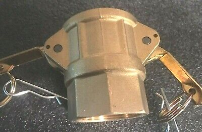 "DIXON 1-1/2"" Cam Lock Female Brass cplg. - Part # G150-D-BR new fast shipping"