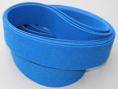 1 x 42  Felt Buffing Polishing Belt For Knife Makers - Polish Any Metal - 3 Pack