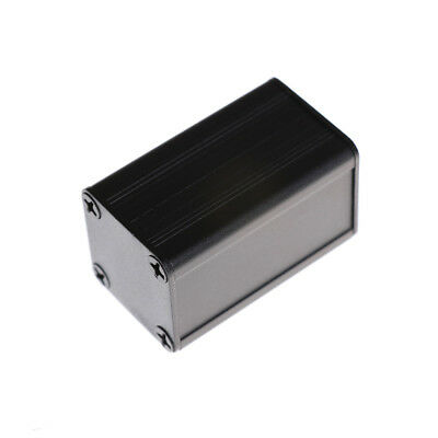 40*25*25mm Extruded PCB Aluminum Box Black Enclosure Electronic Project Case  ZX