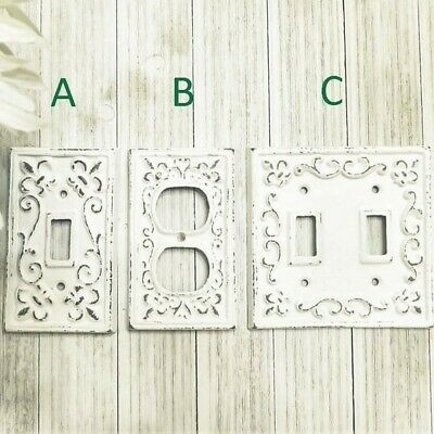 Cast Iron Light Switch Plate - Rustic Light Switch Cover - Wall Outlet Cover
