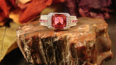 ~Beautiful Ruby Ring & Free Spell Scroll To Attract Love~Witch Chosen~