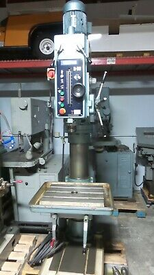 Wilton B-60 Gear Head Drill Press with Power Feed, Tapping & Coolant.