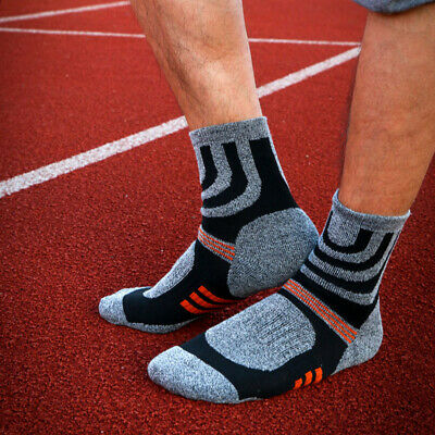 2Pairs Mens Womens Jogging Running Ankle Socks Climbing Breathable Sports Socks