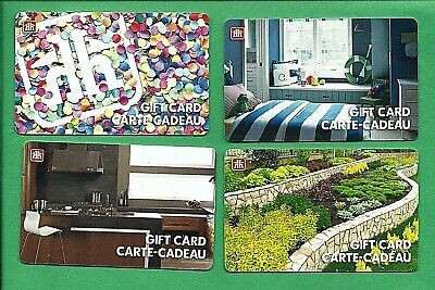 4 Home Hardware Canada Gift Cards No Value