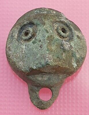 Ancient Celtic Bronze Amulet