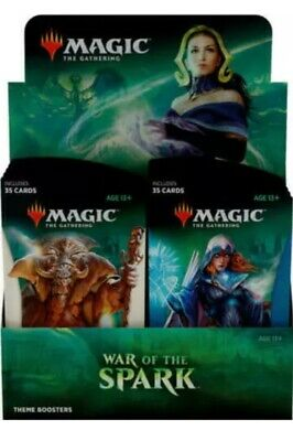 MTG Magic War Of The Spark Theme Booster Box Factory SEALED!! (10 Packs) DEAL!