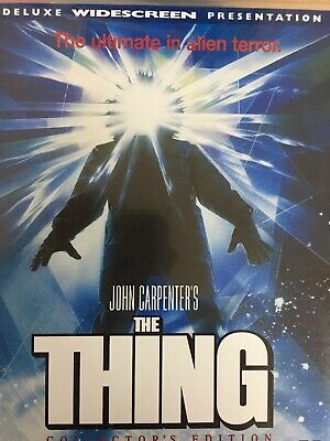 THE THING - Collector's Edition DVD John Carpenter 1982 AS NEW!