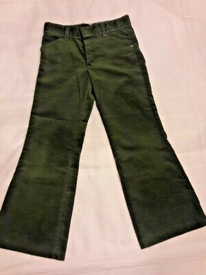 Vtg Sears Winnie The Pooh Collection Children's Corduroy Pants Size 10, Green
