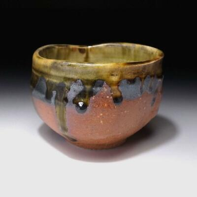 XP4: Japanese Shigaraki style tea bowl by Famous potter, Eichi Kato