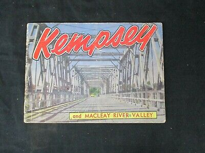 Kempsey and Macleay River Valley NSW Tourist Brochure 1950s H670