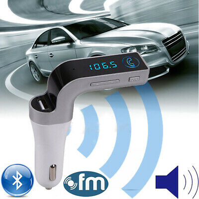 Bluetooth FM transmitter Wireless Auto Hands free AUX Receiver Adapter Charger