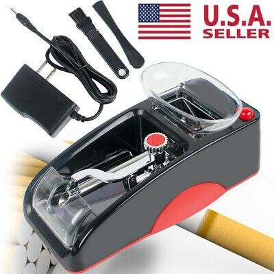 USA Electric Tobacco Cigarette Rolling Roller Automatic Injector Maker Machine