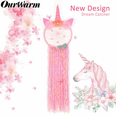 Colorful Unicorn Dream Catcher Girl's Gift Wall Hanging DreamCatcher Home Decor