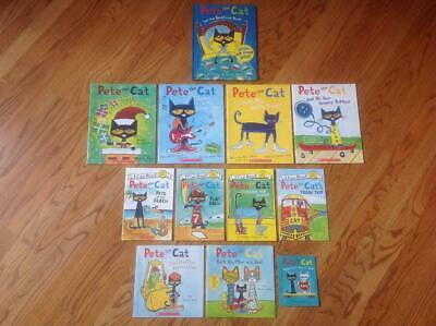 Lot 12 PETE THE CAT Picture Books & Readers 1 HC ~ Kimberly & James Dean BLUES +