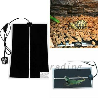 5W-20W Waterproof Heat Mat Reptile Brooder Incubator Pet Heating Pad UK Plug