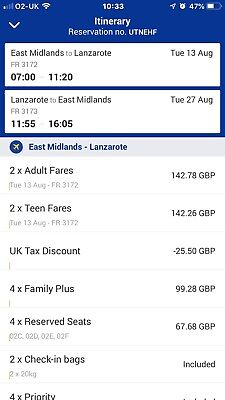 Flight Tickets To Lanzorate