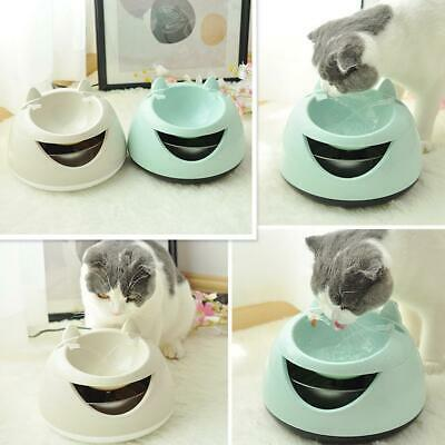 LED USB Automatic Electric Pet Water Fountain Cat/Dog Drinking Dispenser Bowl