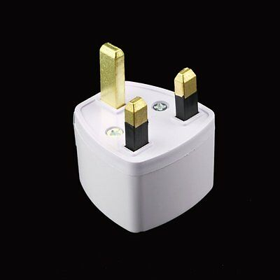 Travel to UK Great Britain England Plug Power Adapter Converter from EU US AU #2
