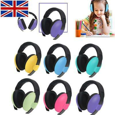 Kids Folding Ear Defenders Noise Reduction Protectors Muff Children Baby UK