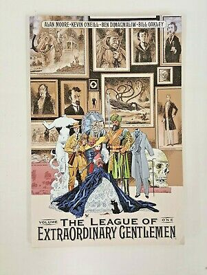 The League of Extraordinary Gentlemen by Alan Moore, Kevin O'Neill...
