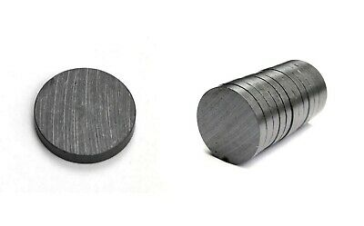 ALL SIZE Strong Ferrite Disk Magnets MRO SMALL PACKS Craft Fridge Self Adhesive