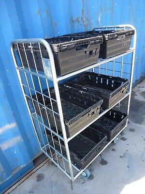 Stock Picking warehouse Internet trolley
