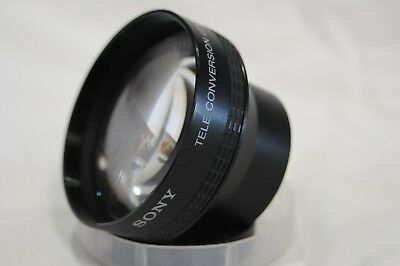 EXC+++!! SONY VCL- 2046C TELE CONVERSION LENS x2.0  From Japan