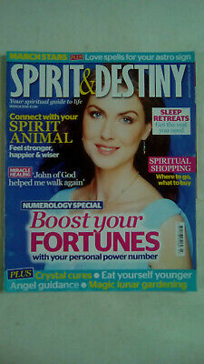 Spirit and Destiny Magazine March 2016 Boost Your Fortunes Numerology Special