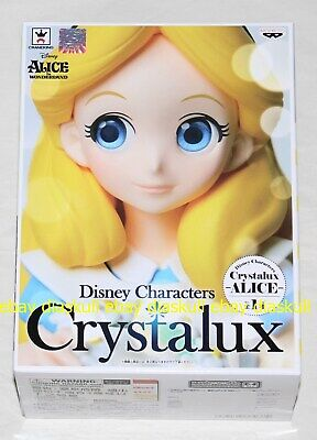 Banpresto Disney Characters Crystalux Alice in Wonderland Alice Figure