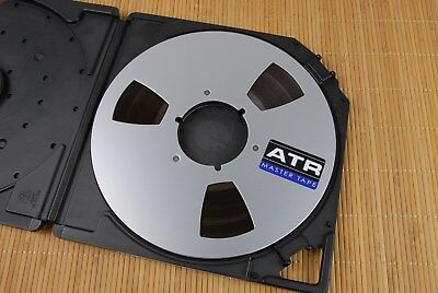 "ATR Magnetics R to R Master Tape 1/4""x 10 1/2"" NAB Metal reel tape"