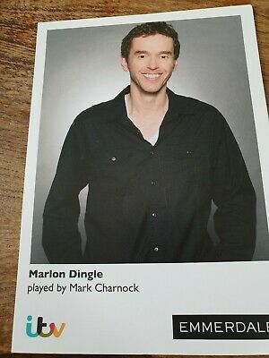 Emmerdale Marlon Dingle  Cast Card