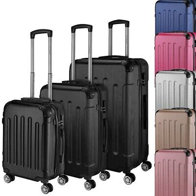 Go2Travel Hartschalenkoffer Reisekoffer Trolley Bordgepäck Kofferset 🧳