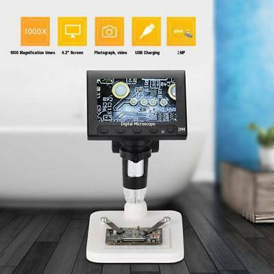8-LED Adjustable USB 1000X Digital Microscope Camera For Motherboard Repairing