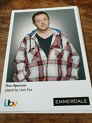 Emmerdale Dan Spencer Cast Card