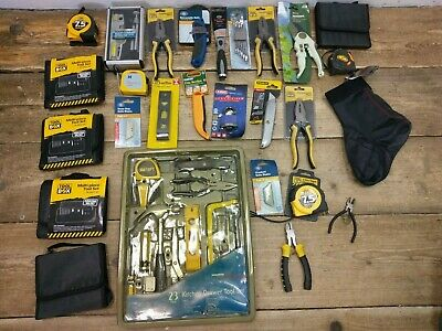 Job Lot Assorted Hand Tools - Most New -  Pliers Multi Levels Blades @34A