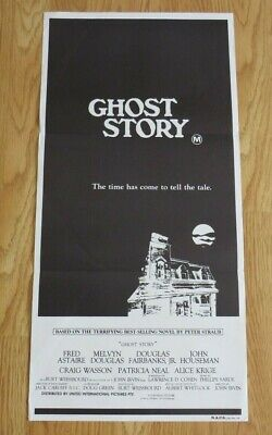 GHOST STORY ORIGINAL 1981 CINEMA DAYBILL MOVIE FILM POSTER Fred Astaire HORROR