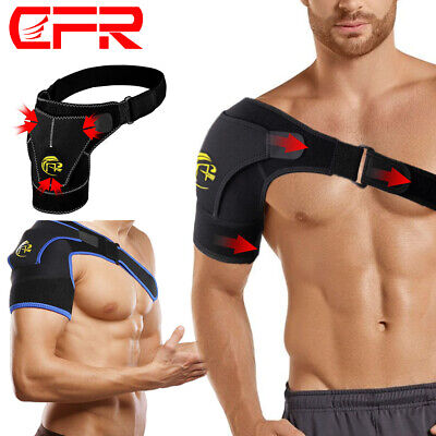 Shoulder Brace Rotator Cuff Compression Support Strap Arm Injury Sleeve Wrap DSM