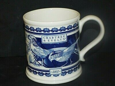 Masons Ironstone Crabtree & Evelyn Of London 2002 Collectors MUG New with Label